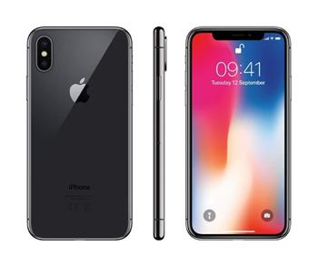 Apple iPhone X 256GB šedá