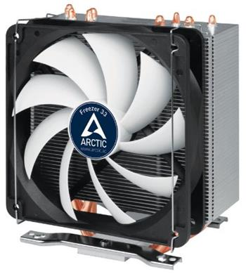 ARCTIC Freezer 33 - CPU Cooler for Intel socket 2011-v3 / 1156 / 1155 / 1150 / 1151, AMD socket AM4, direct touch techno