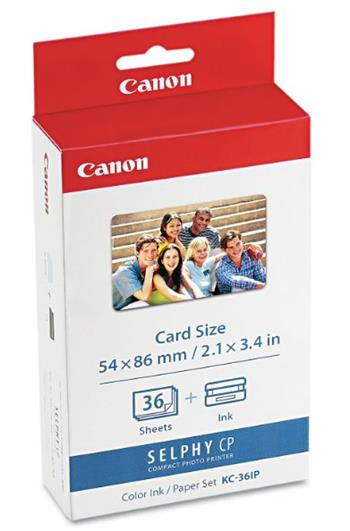 Canon KC-36IP (Card size) 36ks ROZBALENO