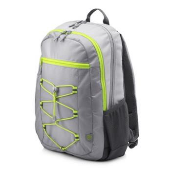 HP 15.6 Active Backpack Grey/Neon Yellow, batoh na notebook 1LU23AA