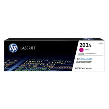 HP 203A Magenta Original LaserJet Toner Cartridge, CF543A
