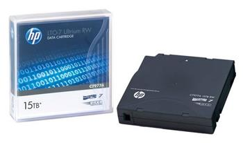 HP LTO-7 Ultrium RW Data Cartridge 15TB, C7977A