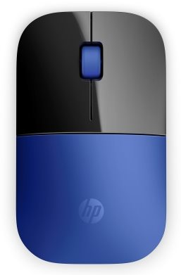 HP Z3700 Wireless Mouse - Dragonfly Blue, bezdrátová myš